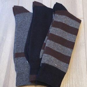 Other - 3 Pair Men's Sock Assortment Nwot